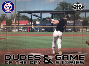 Dudes of the Day/Game Stories: Five Tool Texas Houston Regional (Saturday, June 8)