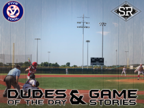 Dudes of the Day/Game Stories: Five Tool Texas Houston Regional (Sunday, June 9)