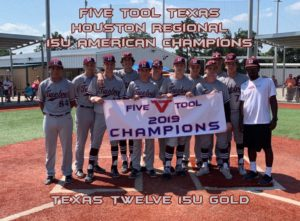 Five Tool Texas Houston Regional 15U American Champions Texas Twelve 15U Gold