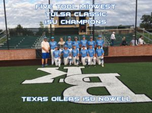 Five Tool Midwest Tulsa Class Champions Texas Oilers 15U Nowell