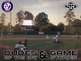 Dudes of the Day/Game Stories: Five Tool Texas SHSU (Thursday, June 13)