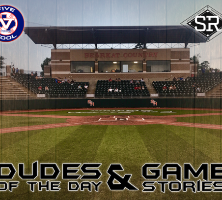 Dudes of the Day/Game Stories: Five Tool Texas SHSU (Saturday, June 15)