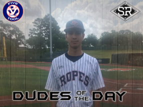 Isaiah Rhodes, Dude of the Day, June 13 – 16, 2019