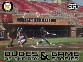 SR Bats Dudes of the Day/Game Stories: Five Tool West 14U-15U Championships (Saturday, June 29)
