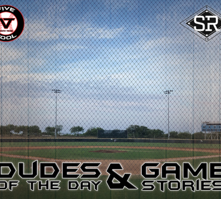 Dudes of the Day/Game Stories: Five Tool South Texas Beach Classic (Sunday, July 14)