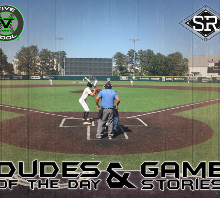 Dudes of the Day/Game Stories: Five Tool Midwest Governor's Cup Classic (Saturday, July 20)