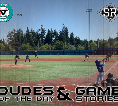 Game Stories: Five Tool Northwest Jake Long Memorial – 18U (Saturday, July 20)