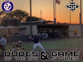 Dudes of the Day/Game Stories: SBC Invitational Powered by Five Tool (Saturday, July 20)