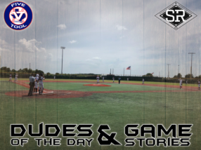 Dudes of the Day/Game Stories: Five Tool Texas 15U/16U Championships (Sunday, July 21)