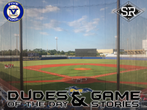 Dudes of the Day/Game Stories: 2D/FiveTool Wood Bat Finale (Friday, July 26)