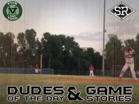 Dudes of the Day/Game Stories: Five Tool Midwest World Series (Saturday, July 27)