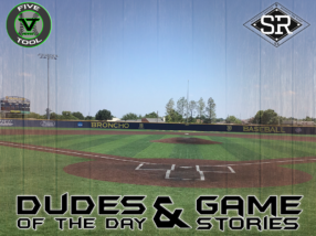 Dudes of the Day/Game Stories: Five Tool Midwest World Series (Sunday, July 28)