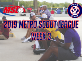 Recapping 2019 Metro Scout League Week 3