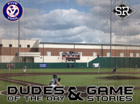 Dudes of the Day/Game Stories: Five Tool Texas DFW Fall Showdown (Sunday, September 22)