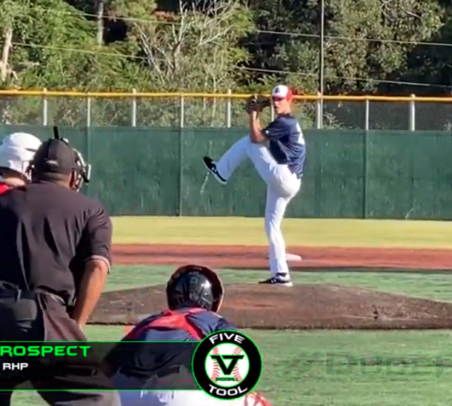 RHP Nathan Dettmer up to 93 MPH, Johnson (TX) 2020, Texas A&M Commit, Five Tool Baseball Prospect