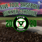 Five Tool Baseball 2020 Summer Schedule