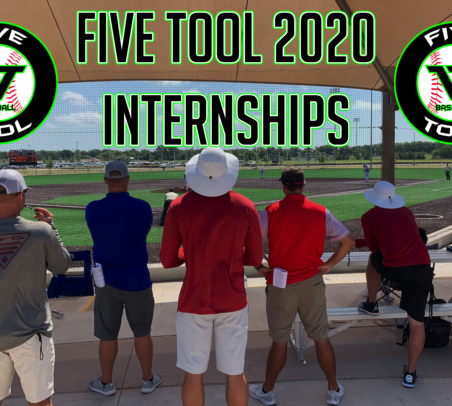 Five Tool Baseball 2020 Internship Opportunities