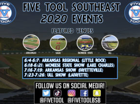 Five Tool Southeast 2020 Events