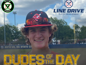 Brady Henderson, Dude of the Day, June 19, 2020