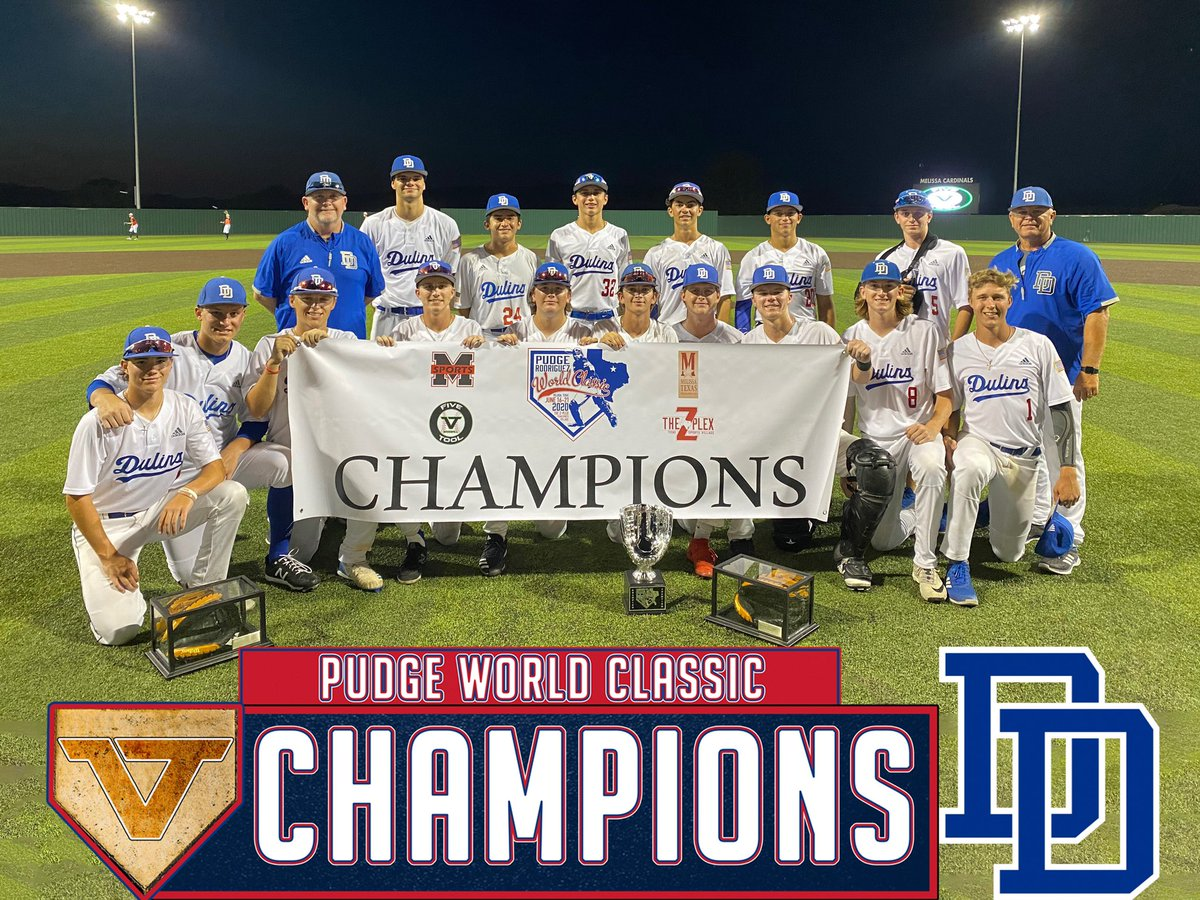 2020 Pudge World Classic Teams Five Tool Baseball