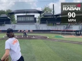 Riley Bauman, 90 Club, April 21, 2020 (90 MPH)