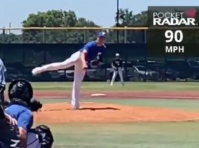 Zach Ryan, 90 Club, June 12, 2020 (91 MPH)