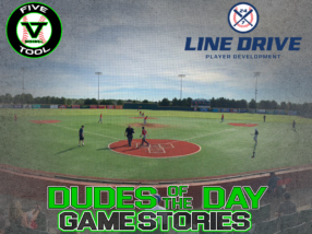 24 7 Line Drive Dudes of the Day/Game Stories: Five Tool 14U-15U Championships (Thursday, June 25)