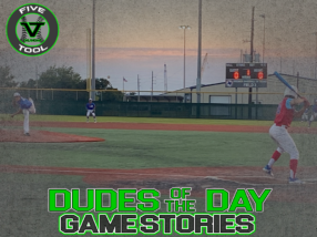 Dudes of the Day/Game Stories: Five Tool Texas Kickoff (Sunday, June 14)