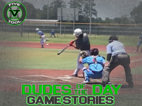 Dudes of the Day/Game Stories: Five Tool Texas Kickoff (Friday, June 12)