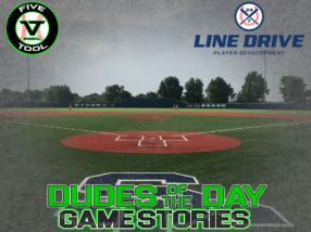 24 7 Line Drive Dudes of the Day/Game Stories: Five Tool Southeast Arkansas Show (Friday, July 17)