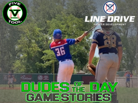 24 7 Line Drive Dudes of the Day/Game Stories: Five Tool Club Championships  (Thursday, July 30)