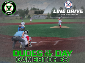 24 7 Line Drive Dudes of the Day/Game Stories: Five Tool Colorado Rocky Mountain Championships (Thursday, July 2)