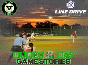 24 7 Line Drive Dudes of the Day/Game Stories: Five Tool World Series (Saturday, July 25)
