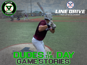 24 7 Line Drive Dudes of the Day/Game Stories: Five Tool World Series (Thursday, July 23)