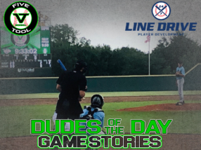 24 7 Line Drive Dudes of the Day/Game Stories: Five Tool Oklahoma Showdown (Thursday, July 16)