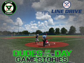 24 7 Line Drive Dudes of the Day/Game Stories: Five Tool Southeast Arkansas Show (Sunday, July 19)