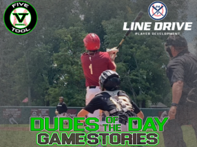 24 7 Line Drive Dudes of the Day/Game Stories: Five Tool Club Championships (Sunday, August 2)