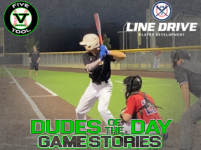 24 7 Line Drive Dudes of the Day/Game Stories: Five Tool Texas DFW Showdown (Thursday, August 13)