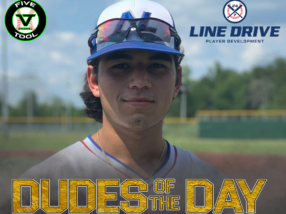 Josh Flores, Dude of the Day, August 6, 2020