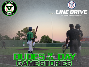 24 7 Line Drive Dudes of the Day/Game Stories: Five Tool Club Championships (Saturday, August 1)