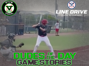 24 7 Line Drive Dudes of the Day/Game Stories: Five Tool Colorado Fall Kickoff (Sunday, August 23)