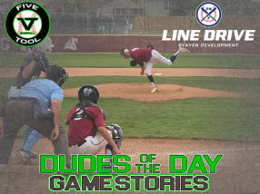 24 7 Line Drive Dudes of the Day/Game Stories: Five Tool Colorado Fall Regional Championships (Friday, September 18-Saturday, September 19)