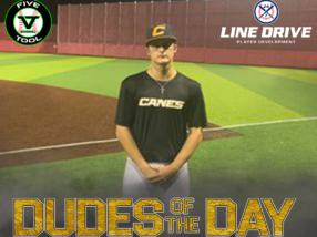 Ryan Dugas, Dude of the Day, September 5, 2020