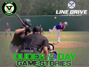 24 7 Line Drive Dudes of the Day/Game Stories: Five Tool Oklahoma Labor Day Classic (Saturday, September 5-Sunday, September 6)