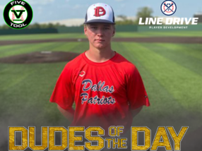 Barrett Riebock, Dude of the Day, September 7, 2020