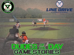 24 7 Line Drive Dudes of the Day/Game Stories: Five Tool Texas DFW Fall Classic (Sunday, October 4)