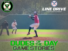 24 7 Line Drive Dudes of the Day/Game Stories: Five Tool Oklahoma Fall Classic (Friday, October 16-Saturday, October 17)