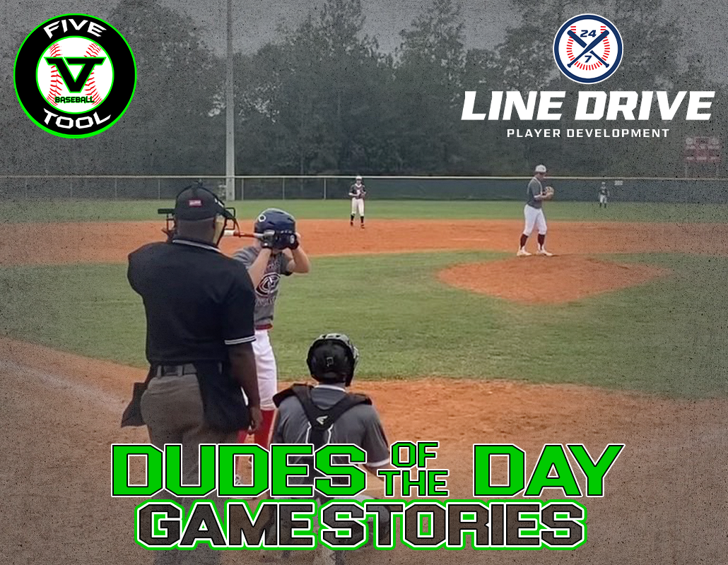 24 7 Line Drive Dudes of the Day/Game Stories: Five Tool Oklahoma Fall Classic (Sunday, October 25)