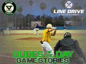 24 7 Line Drive Dudes of the Day/Game Stories: Five Tool West Tucson Fall HS Wood Bat (Saturday, November 14)