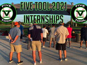 Five Tool Baseball 2021 Internship Opportunities